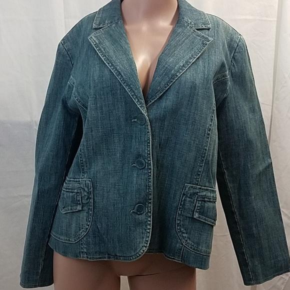 FDJ French Dressing Jackets & Blazers - 💥 FDJ French Dressing jean jacket